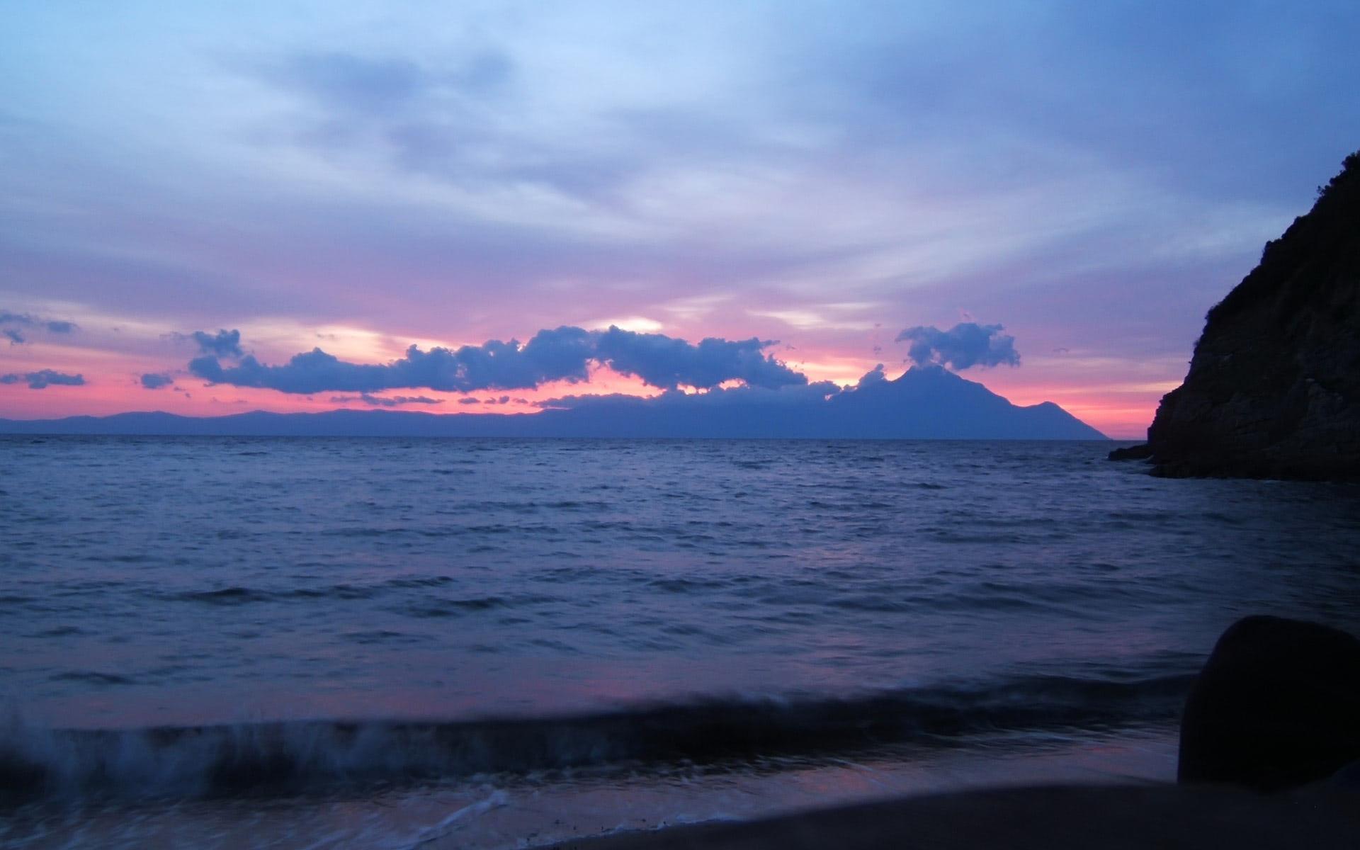 Beach Wallpaper Of Vasco Sunset