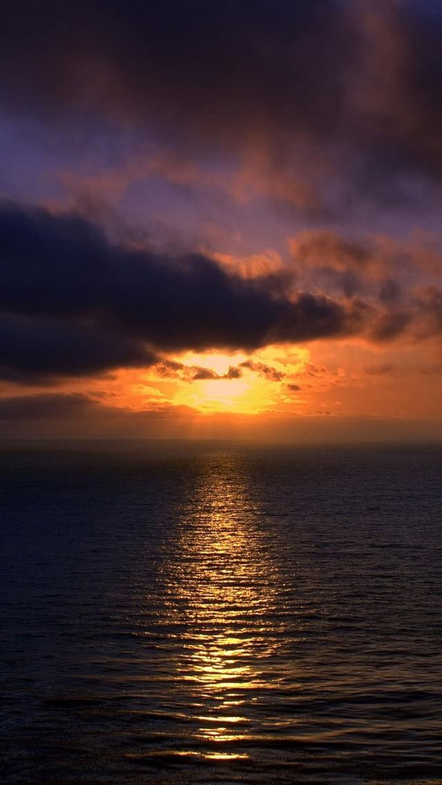 Beautiful Sunset Over Brazilian Beach Wallpaper Beach Wallpapers