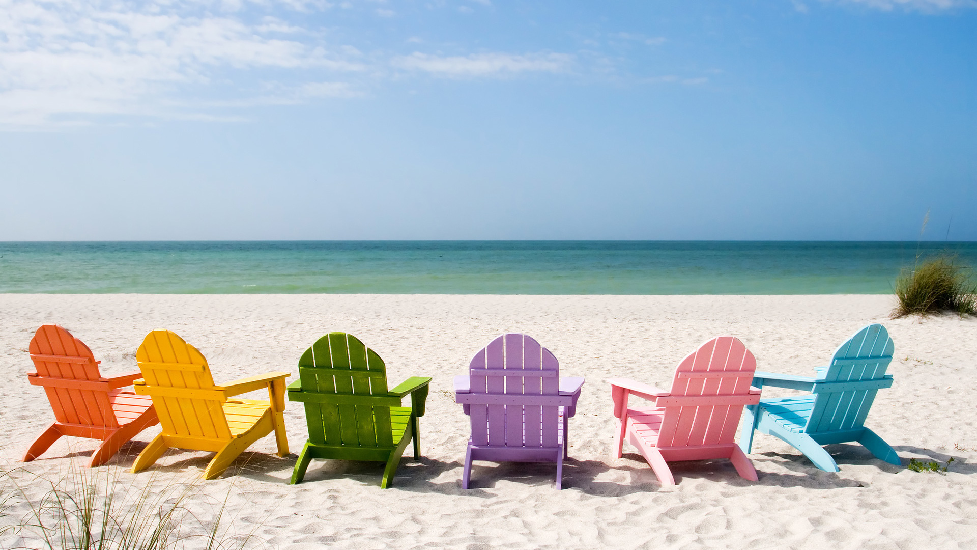 Delightful Benches At The Beach Wallpaper Beach Wallpapers