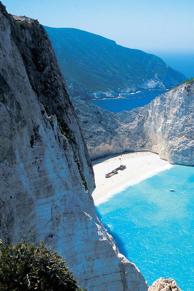 Shipwreck Beach Zakynthos Greece
