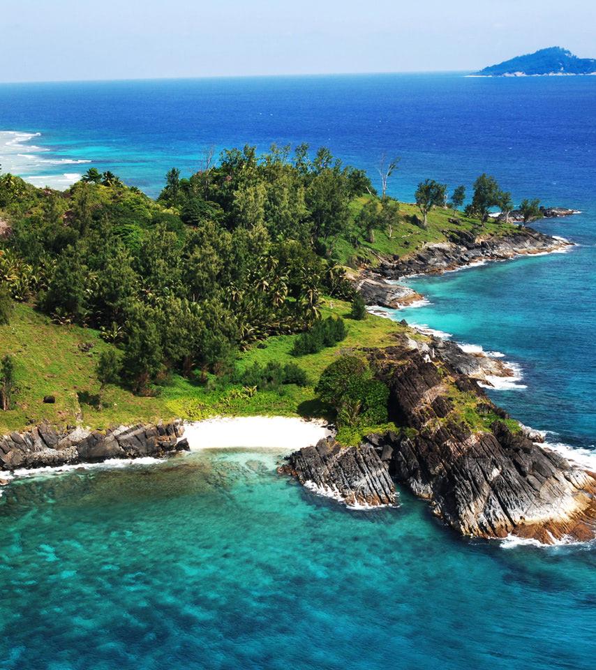 Seychelles Beach: Silhouette Island, Seychelles