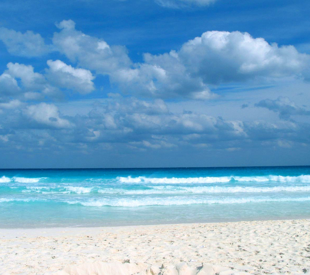 Caribbean Beach: Stunning View From The Caribbean Beach Background