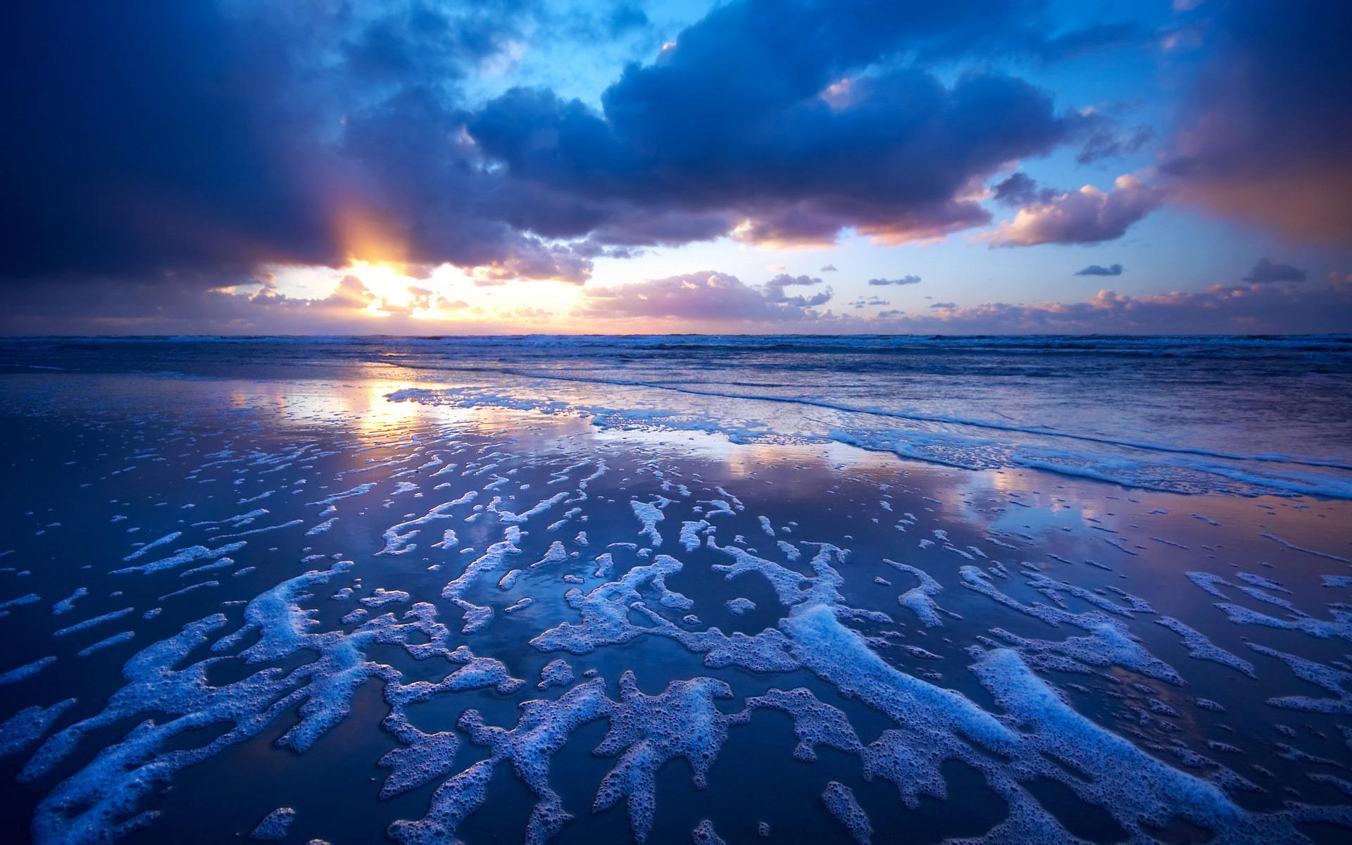 Best Wallpaper Macbook Wave - sunset-waves-wallpaper-1920x1200-373  You Should Have_259951.jpg