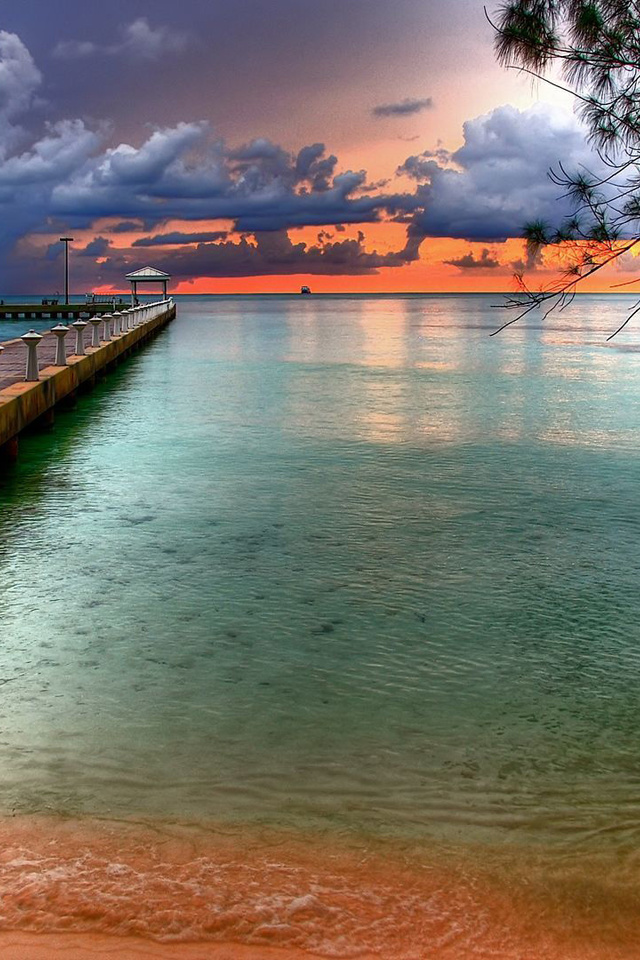 The Colourful Wallpaper Of Sky At Key West Florida