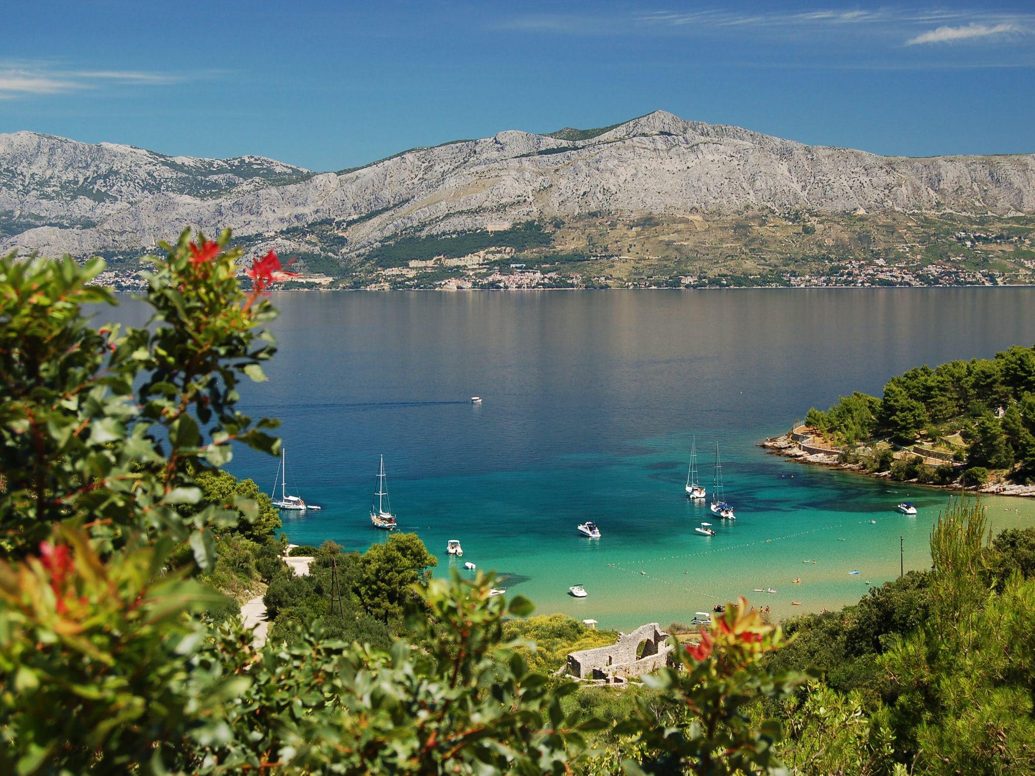 The Wallpaper Of Beautiful Lovrecina Beach In Croatia