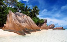 Beach background – Stones on the beach