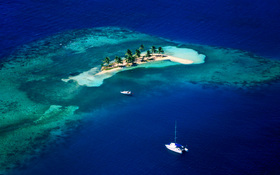 Goff's Caye, Belize wallpaper