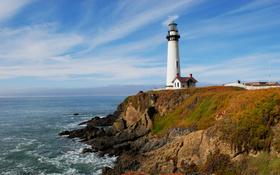 San Francisco Bay Area lighthouse wallpaper