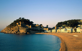 Tossa de Mar, Spain – wallpaper