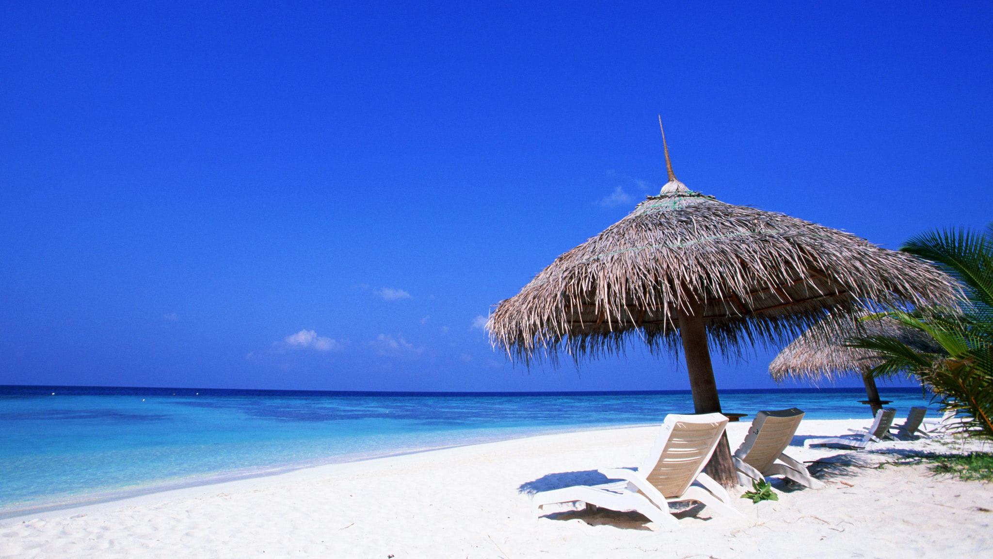 tropical sandy beach wallpaper - photo #5