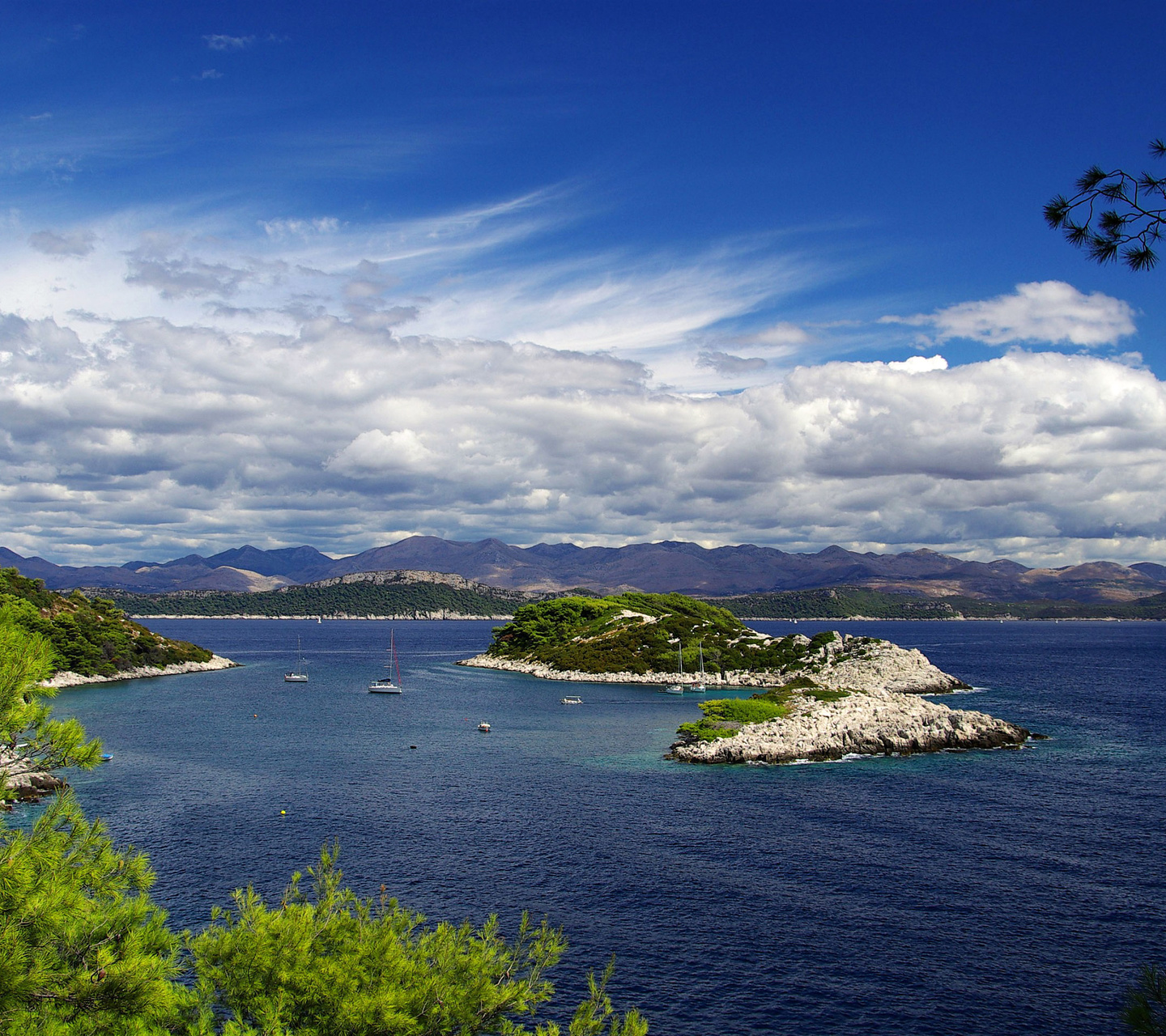 Unique Beauty Of The Island Mljet Croatia Wallpaper