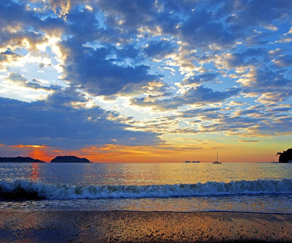 sunset beach 1600x1200 wallpaperssunset - photo #18