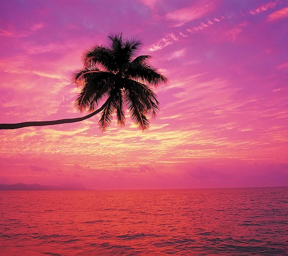 Rainbow Sunset Beach Wallpaper Beach Wallpapers