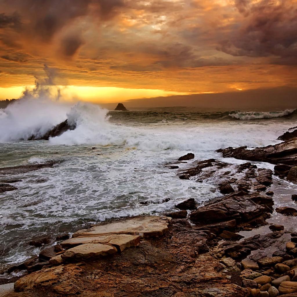 Wallpaper Rocky Beach Desktop Wallpapers: Rocky Seashore Wallpaper