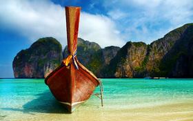 Beautiful Thailand beach wallpaper
