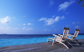 Fantastic Tropical Beach Background