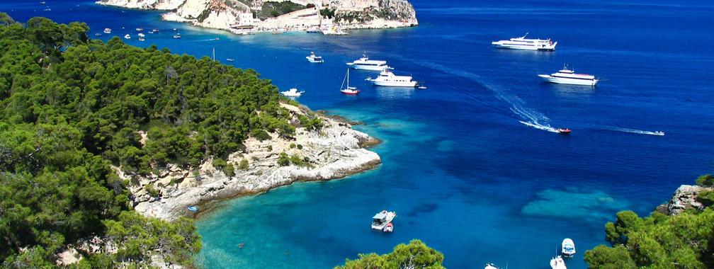 Holiday at the paradise island