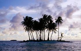 Island wallpaper, Chuuk (Truk), Micronesia