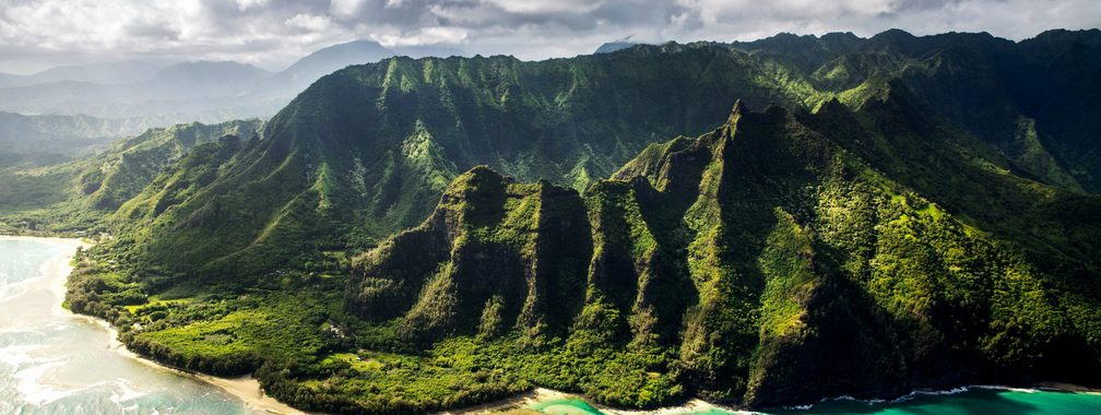 Majestic view at Kauai County, United States