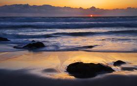McClures Beach, Point Reyes National Seashore, California wallpaper