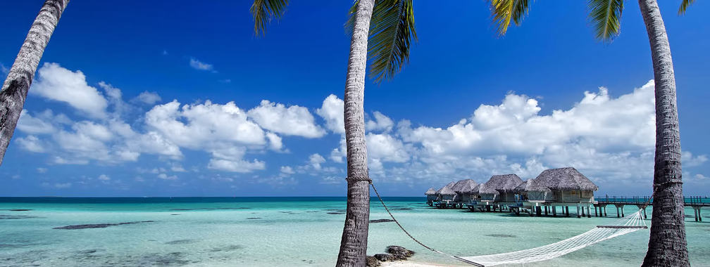 Peaceful Tikehau Pearl beach in the Palliser Islands, French Polynesia
