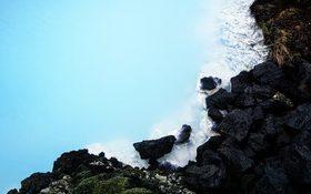 Relaxing wallpaper of Blue Lagoon, Grindavík, Iceland