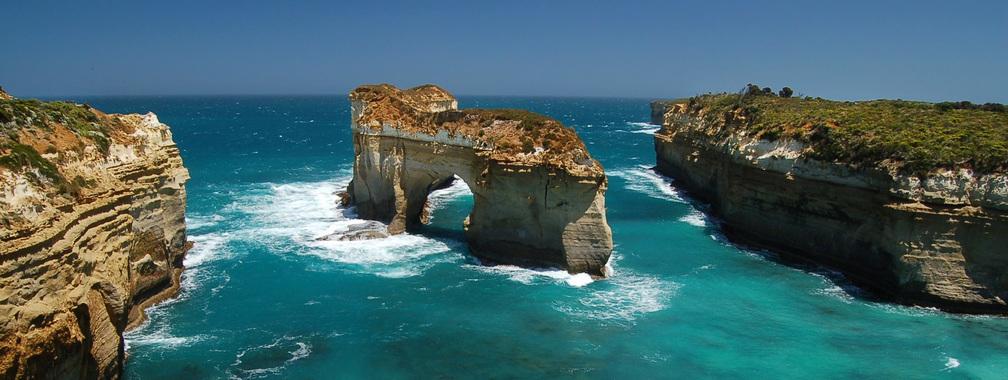 Sea arch wallpaper