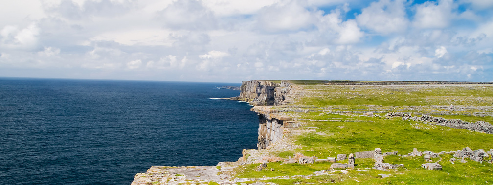 Sea cliff wallpaper