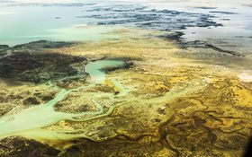 Stunning aerial view on Mangrove River Resort in Sihanoukville