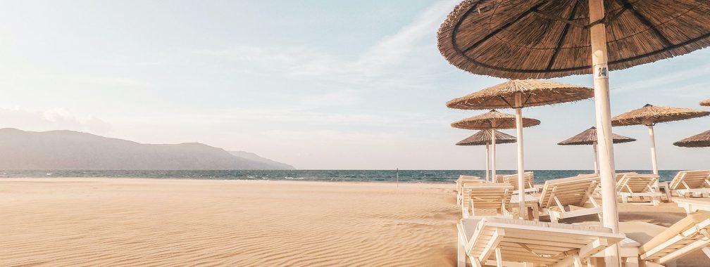 The calm before the storm in Crete Region, Greece