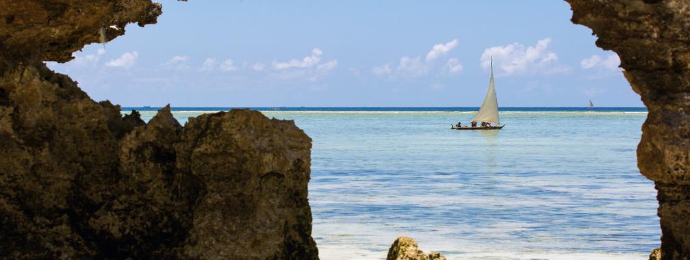 The incredible ocean view in Zanzibar, Tanzania