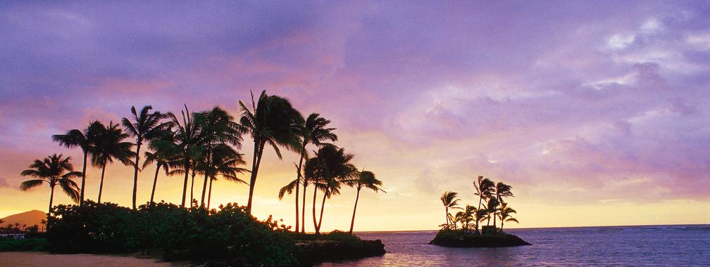 The inspiring wallpaper of the Wai'alae Beach, Honolulu, Hawaii