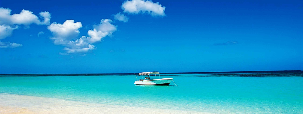 Tropical beach vacation wallpaper