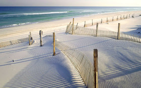 White sandy beach wallpaper